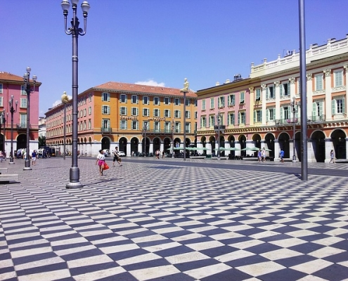 Place Massena, Nice France Europe Voyage