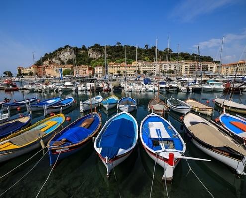 Port de Nice France Europe Voyage