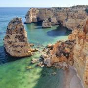 algarve praia da rocha portugal Voyage