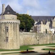Vannes Chateau France Europe Voyage
