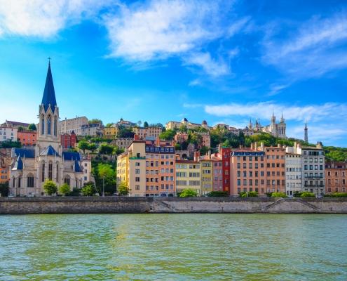 Lyon France Europe Voyage