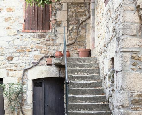 village de Vinezac Ardèche France Voyage