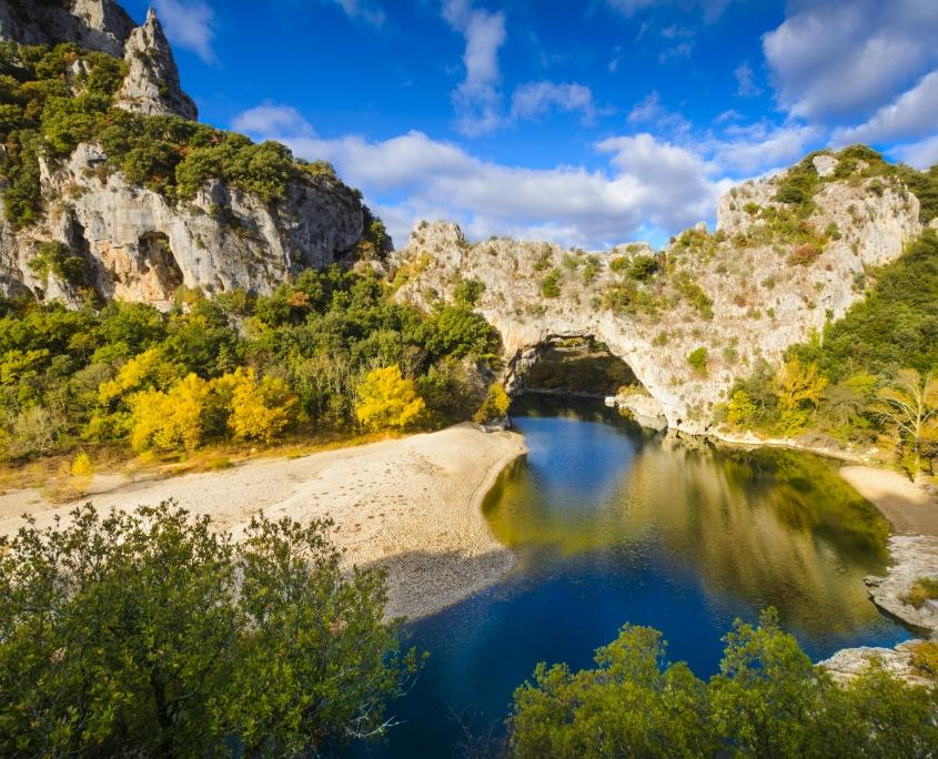 Pont d'Arc-Vallon Ardèche France Europe Voyage
