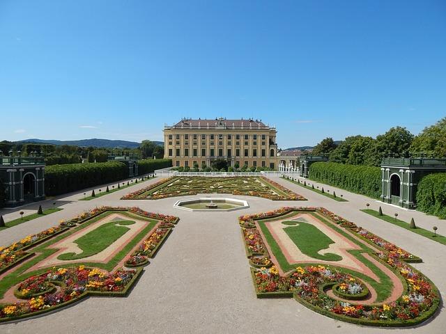 Vienne Château Schoenbrunn Autriche Voyage