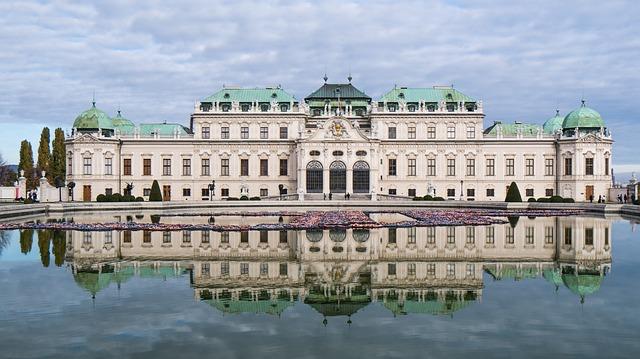 Vienne Palais du Belvedere Autriche Voyage