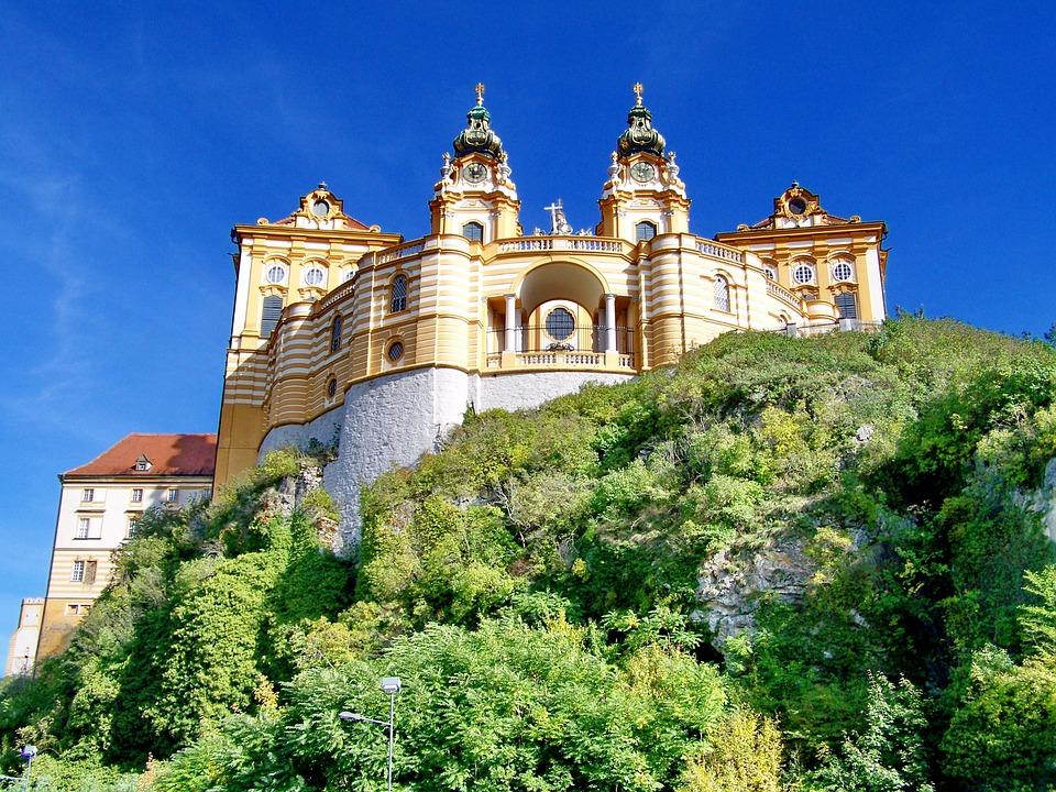 Église Saint-Pierre et Saint-Paul de l'Abbaye de Melk en Autriche