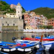 Cinque terre port Italie Europe Voyage