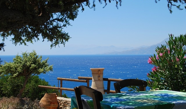Vue de la Crète Grèce Europe Voyage
