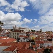 Toits de Lisbonne Portugal Europe Voyage