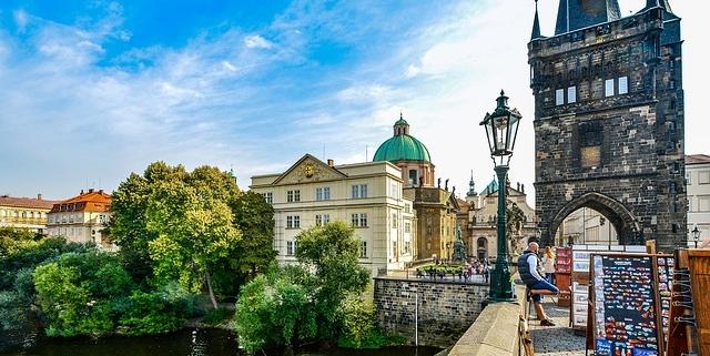 Prague-Pont Charles République Tchèque Europe Voyage