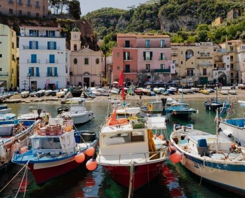 Port de Sorrente Italie Europe Voyage