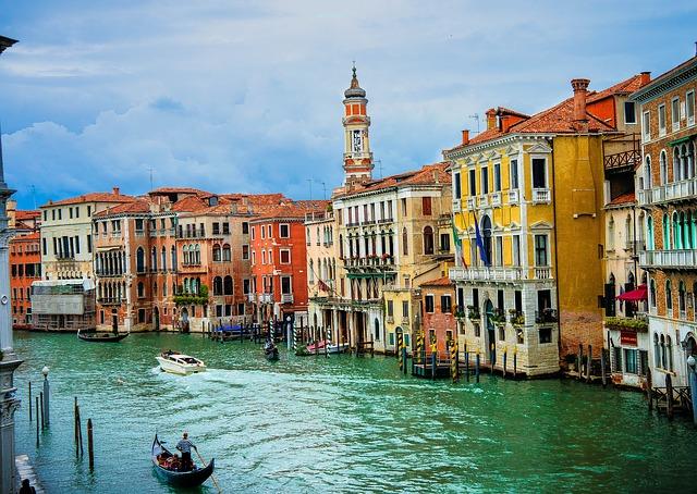 Venise et ses canaux Italie Europe Voyage