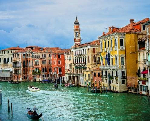 Venise grand canal Italie Europe Voyage