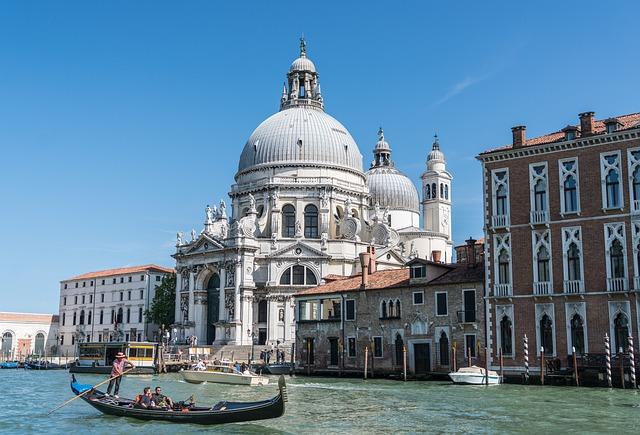 Venise Santa Maria della Salute Italie Europe