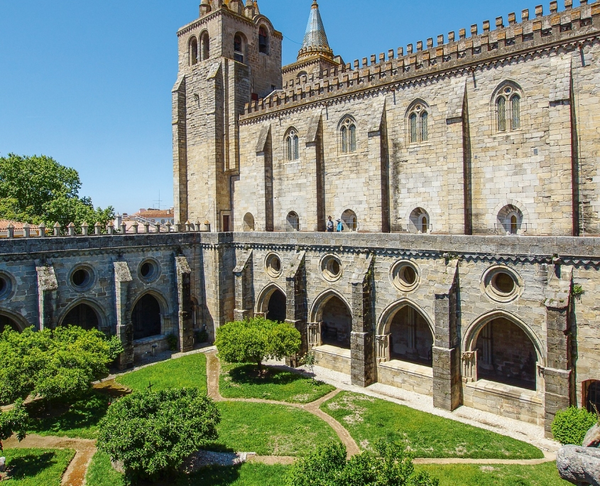 Cathédrale Evora Portugal Europe Voyage