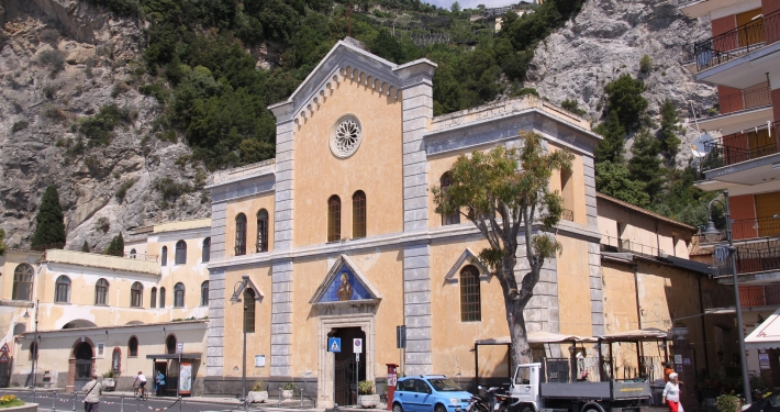 Eglise de Maiori Italie Europe Voyage