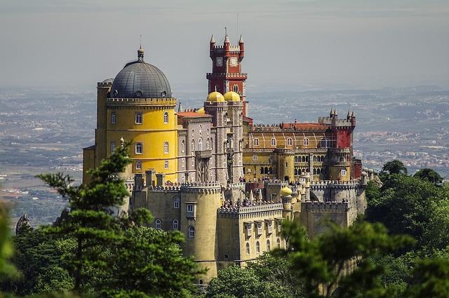 Palais de Pena Sintra Portugal Europe Voyage