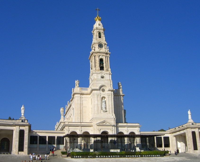 Sanctuaire de Fatima Portugal Europe Voyage