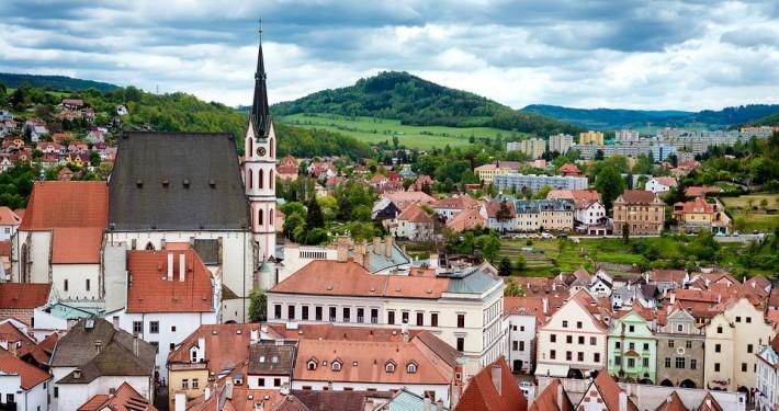 Cesky Krumlov République Tchèque Europe Voyage