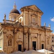 Dubrovnik cathedrale Croatie Europe Voyage
