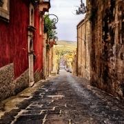 Rue de Palerme Sicile Europe Voyage