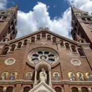 Eglise Votive Szeged Hongrie Europe Voyage