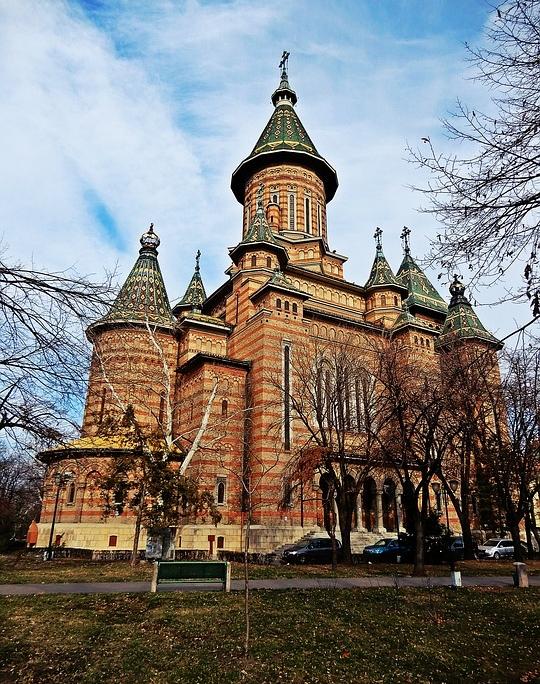 Eglise Orthodoxe, Timisoara Hongrie Europe Voyage