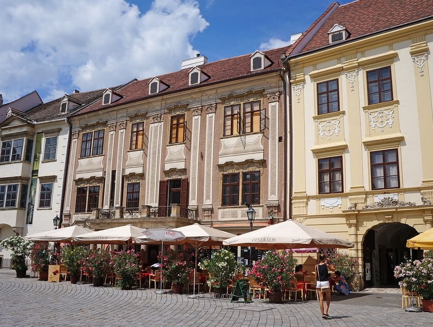 Place Principale, Sopron Hongrie Europe Voyage