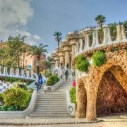 Parc Güell Barcelone Espagne Europe Voyage