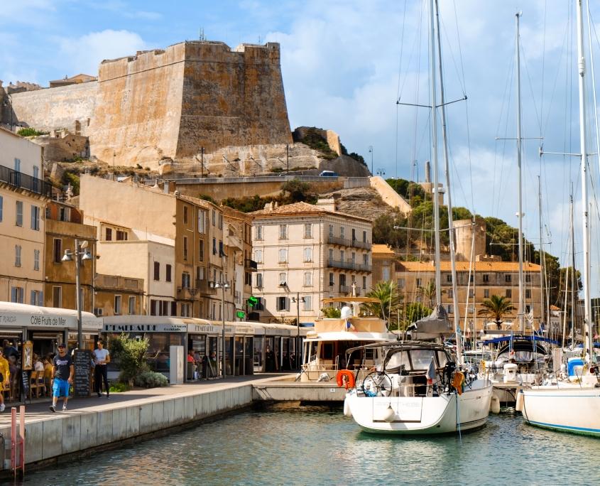 Port de Bonifacio France Europe Voyage