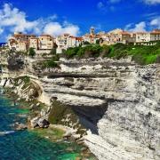 Bonifacio falaise Corse France Europe Voyage