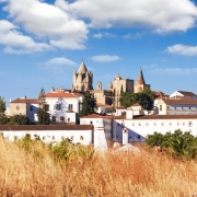 Cathédrale Evora, Portugal Europe Voyage