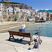 Cefalu paysage Sicile Europe Voyage