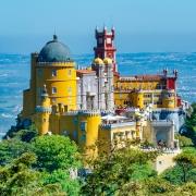 Palais de Pena à Sintra Portugal Europe Voyage