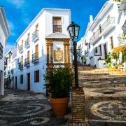 Frigiliana Ruelles Espagne Europe Voyage