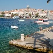 Korcula Croatie Europe Voyage