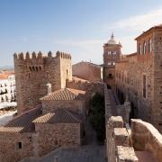 Le Centre ville de Caceres, Espagne Europe Voyage