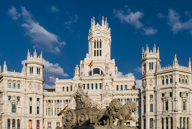 Place Cibeles, Madrid Espagne Europe Voyage