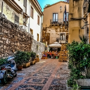 Ruelle Taormine Sicile Italie Europe Voyage