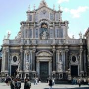 Monument Santa Agata Catane Sicile Italie Voyage