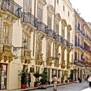 Rue de Trapani Sicile Italie Europe Voyage