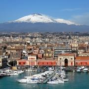 Catane paysage Sicile Italie Europe Voyage