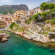 Sant Elia, près de Santa Flavia, Palerme Sicile Italie Europe Voyage