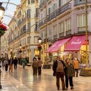 Centre ville de Malaga Espagne Europe Voyage