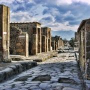 Rue de Pompei Italie Europe Voyage