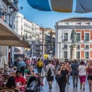 Puerta del Sol, Madrid Espagne Europe Voyage