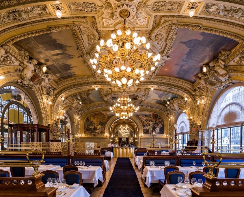 Restaurant Le Train Bleu, Paris France Europe Voyage