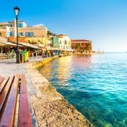 Port de la Canée à Chania Crète Europe Voyage