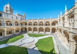 Monastère Lisbonne Portugal Europe Voyage