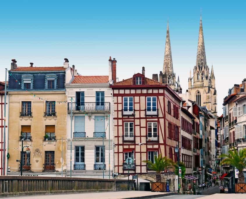 Vieille ville de Bayonne, France Europe Voyage